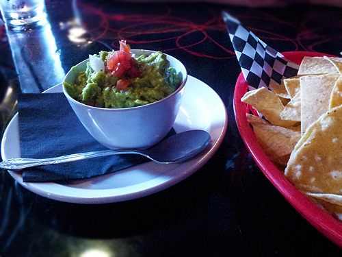 Guacamole at Barrio Tequileria
