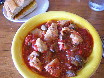 Chicken Cacciatore from Betta's Italian Oven