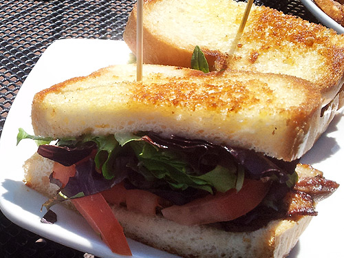 Incline Public House Duck BLT sandwich