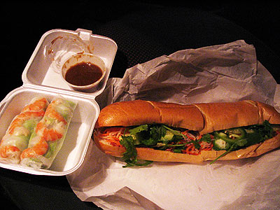 Banh Mi from Le's Cafe