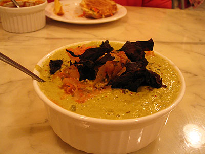 Raw Curry Romaine Soup