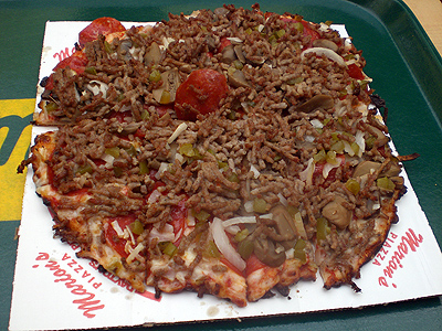 Marion's Deluxe Pizza