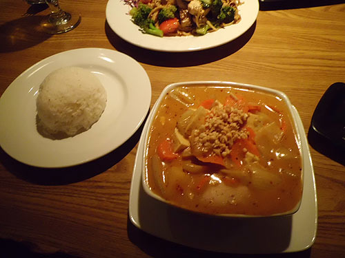 Massaman Curry from Mekong Thai