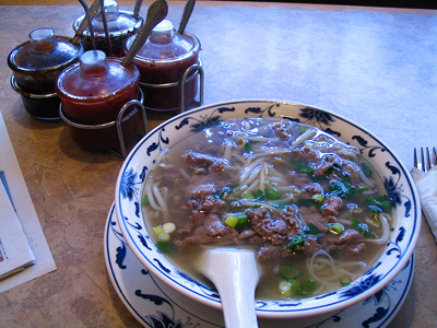 Pho (aka 'Beef Noodle Soup') from Orient