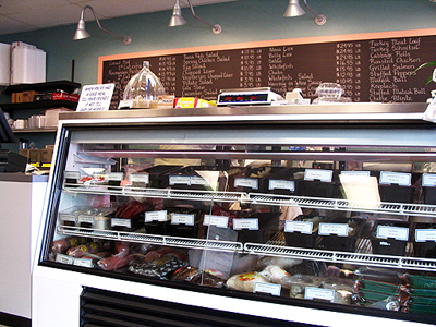 Rascals' Deli counter