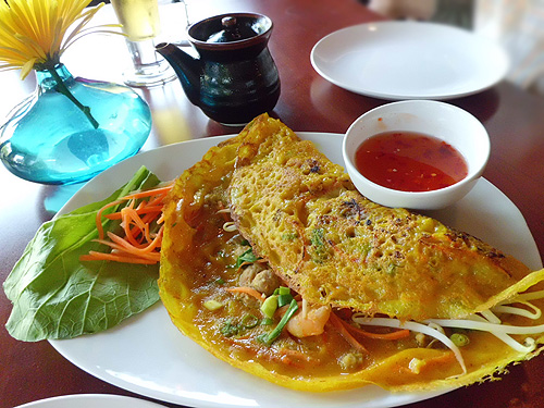 Banh Xeo at Saigon Cafe