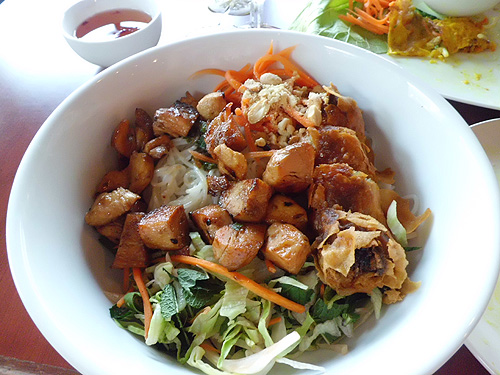 Bun Salad at Saigon Cafe