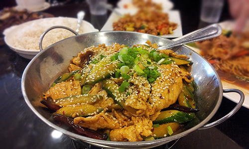Sichuan Bo-Bo Chicken