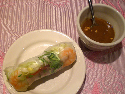 Goi Cuon rolls from Song Long