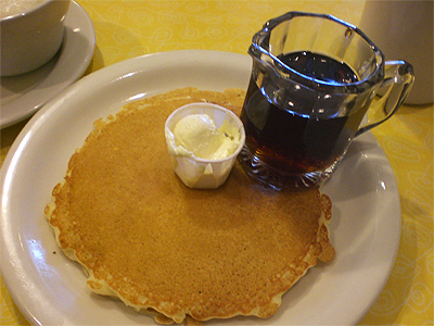 Wispy-thin pancakes from Sugar 'N Spice