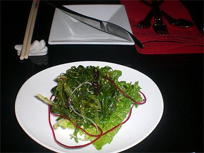 Suzie Wong's seaweed salad