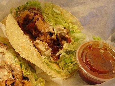 Fish Tacos at Taco Casa