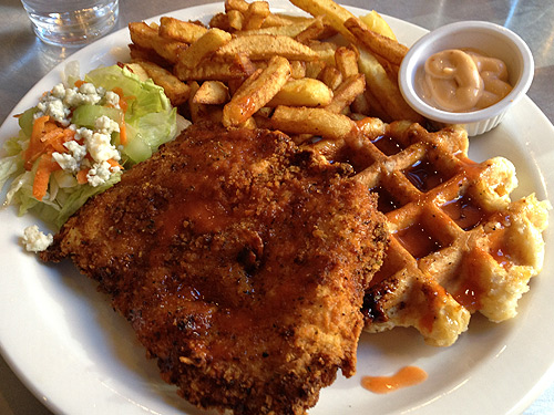 Chicken and Waffles and Frites (oh my!)