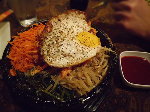 Bibimbap at The Painted Fish