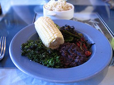 The Vegetarian platter