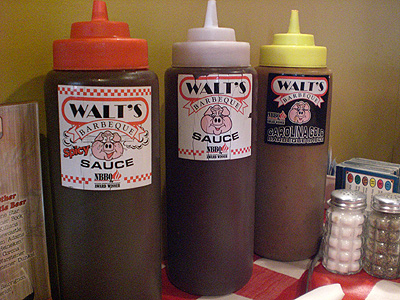 Walt's Barbeque sauces