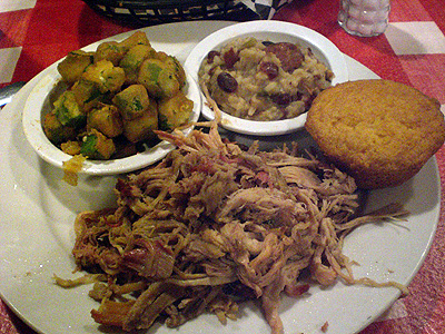 Walt's Barbeque pulled pork